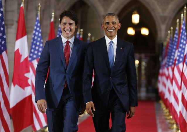 Justin Trudeau-Barack Obama