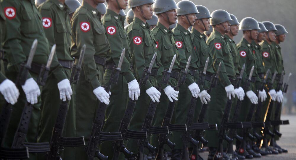 Myanmar ordusu