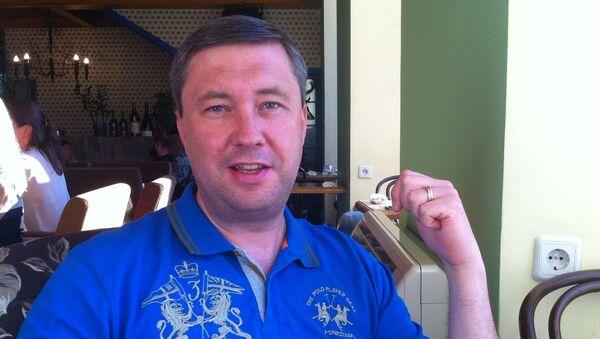 Klintsi kent Belediye Başkanı Sergey Yevteyev. - Sputnik Türkiye