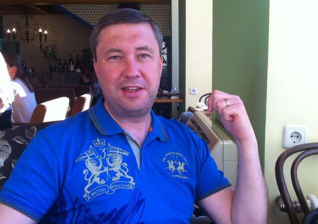 Klintsi kent Belediye Başkanı Sergey Yevteyev.