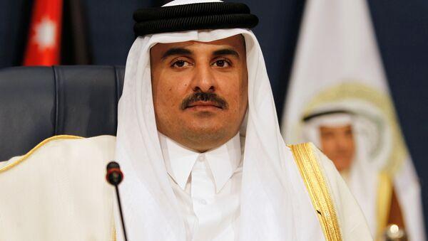Katar Emiri Şeyh Temim bin Hamad Al Sani - Sputnik Türkiye