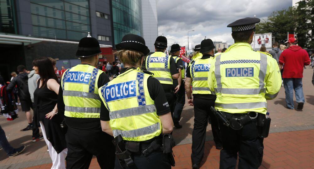 İngiltere polis