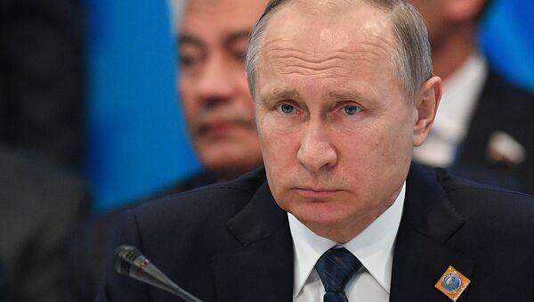 Ruysa Devlet Başkanı Vladimir Putin - Sputnik Türkiye