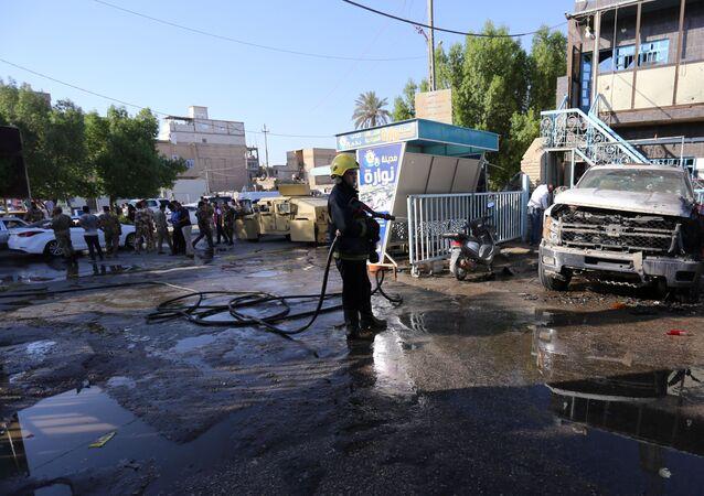 Kerbela'da intihar saldırısı