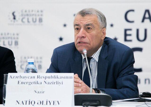 Azerbaycan Enerji Bakanı Natik Aliyev