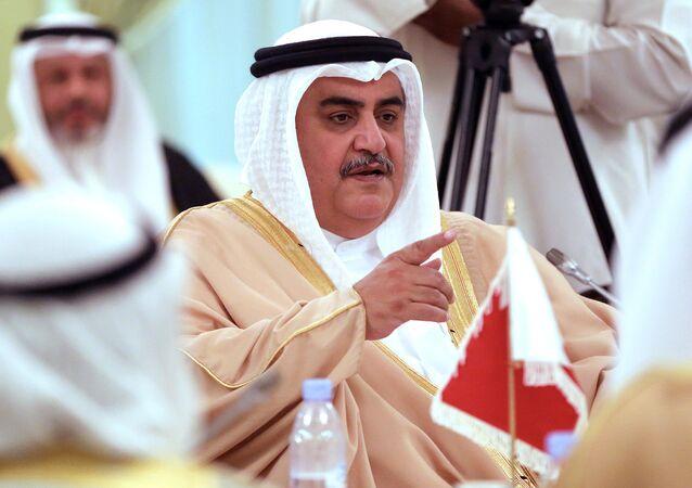 Bahreyn Dışişleri Bakanı Şeyh Halid bin Ahmed el Halife