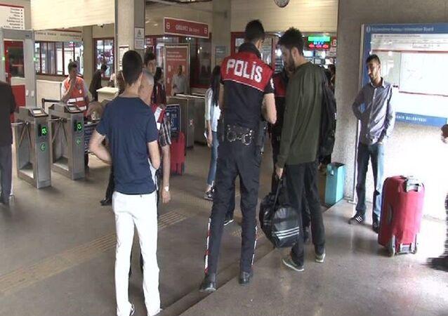 İstanbul otogarlarında polis denetimi