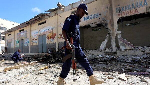 Somali polisi - Sputnik Türkiye