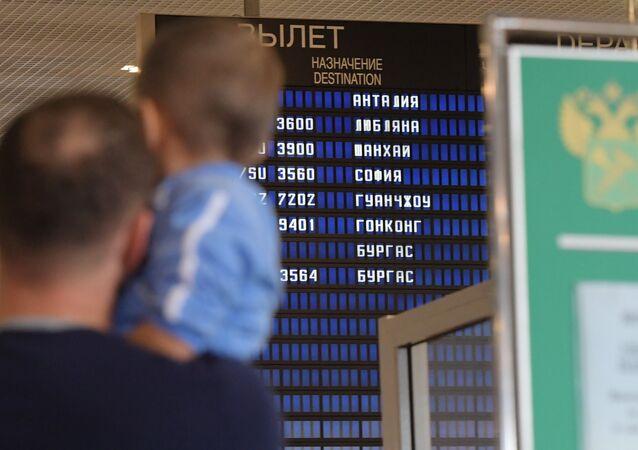 Rusya'dan Türkiye'ye ilk charter uçuş