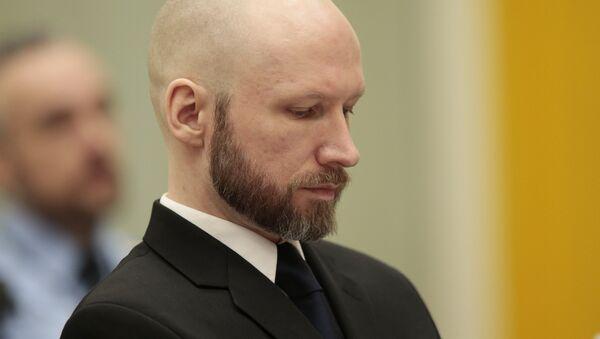 Anders Breivik - Sputnik Türkiye