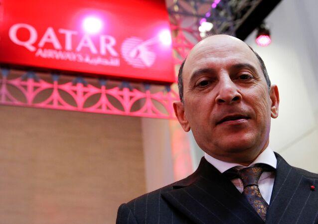 Katar Havayolları CEO'su Ekber el Baker