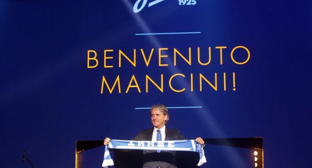 İtalyan teknik direktör Roberto Mancini