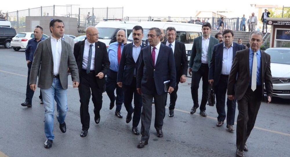 CHP milletvekili Enis Berberoğlu
