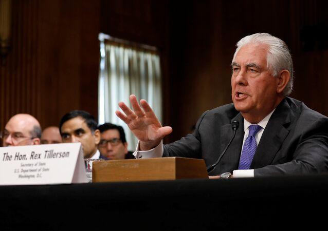 ABD Dışişleri Bakanı Rex Tillerson
