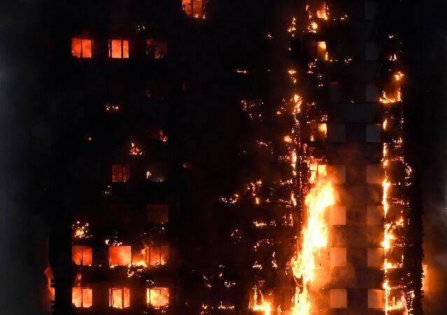 Londra - yangın