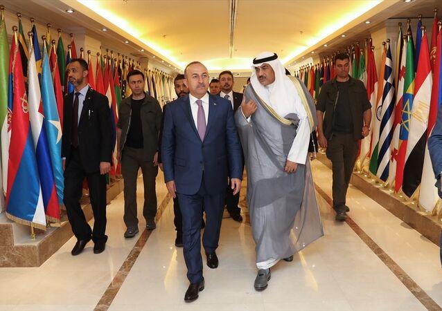 Dışişleri Bakanı Mevlüt Çavuşoğlu, Kuveyt'te