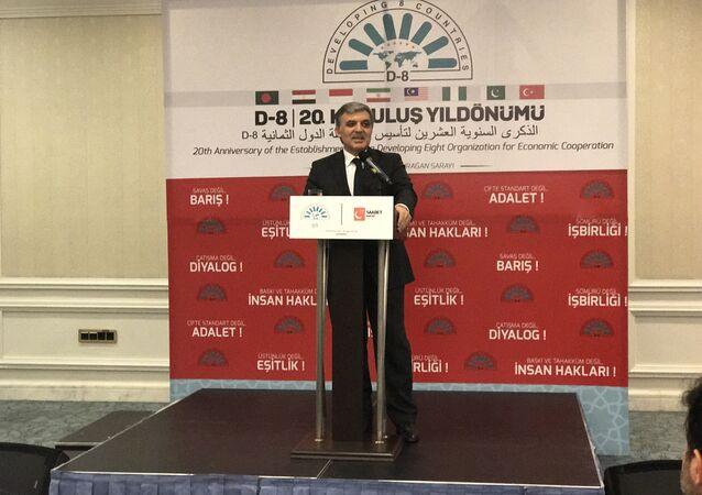 11'inci Cumhurbaşkanı Abdullah Gül, D-8'in yıldönümünde konuşma yaptı.
