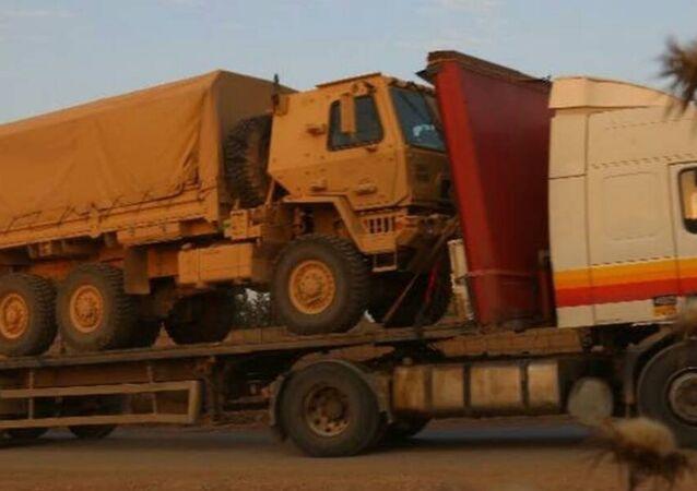 ABD zırhlı araç sevkiyatı
