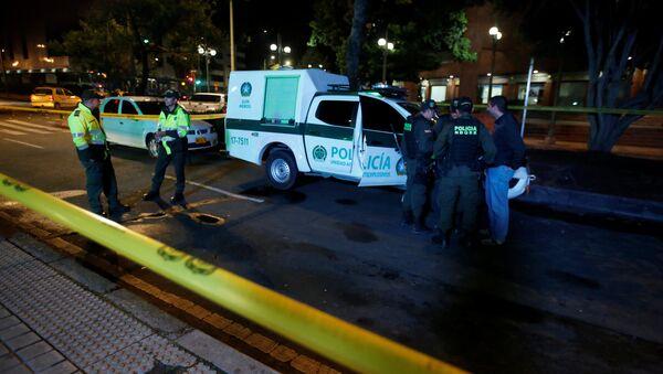 Bogota'da patlamanın meydana geldiği AVM - Sputnik Türkiye