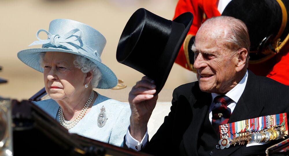 İngiltere Kraliçesi 2. Elizabeth ve eşi Edinburgh dükü Philip