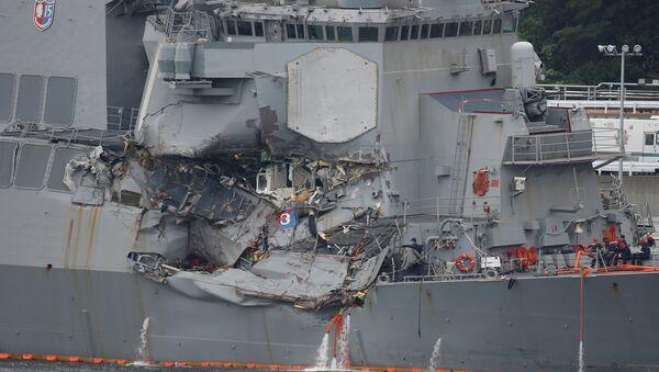 USS Fitzgerald savaş gemisi - Sputnik Türkiye