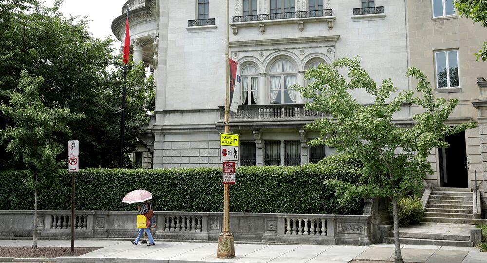 Türkiye'nin Washington Büyükelçiliği Konutu