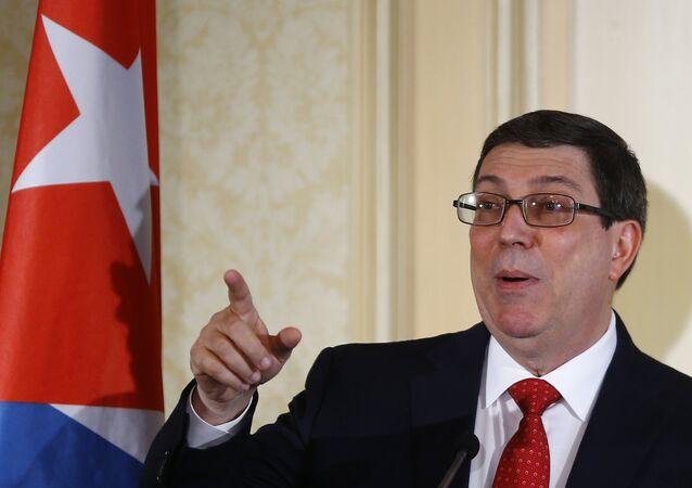 Küba Dışişleri Bakanı Bruno Rodriguez