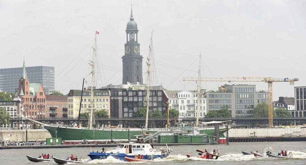G20 Zirvesi öncesinde Hamburg'da güvenlik önlemleri artırıldı