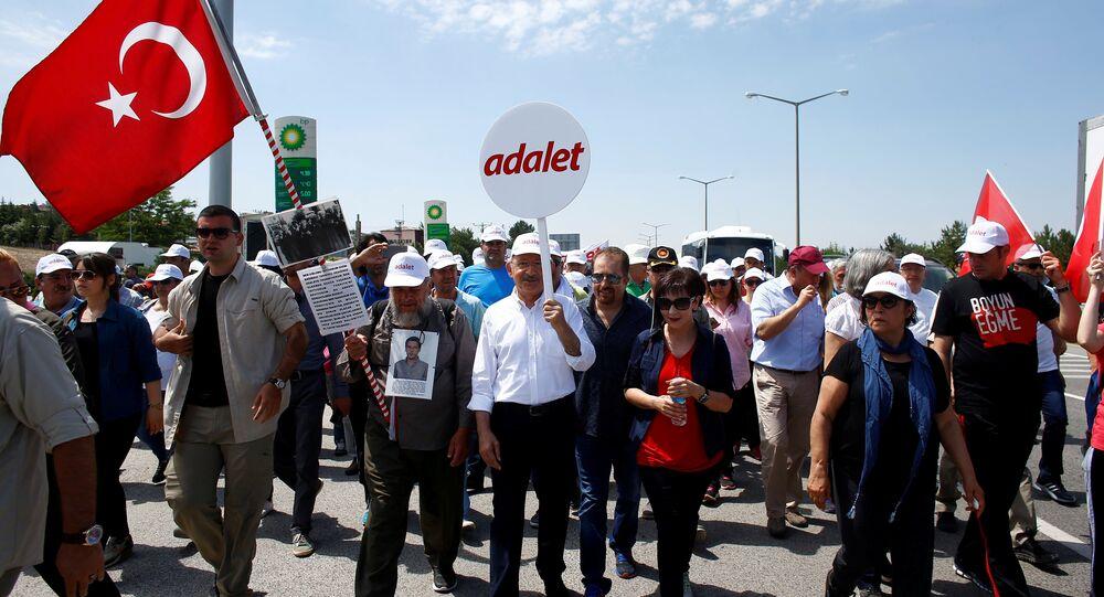 CHP Genel Başkanı Kemal Kılıçdaroğlu, 'Adalet Yürüyüşü'