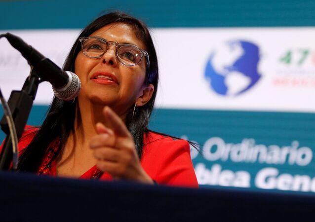 Venezüella Dışişleri Bakanı Delcy Rodriguez