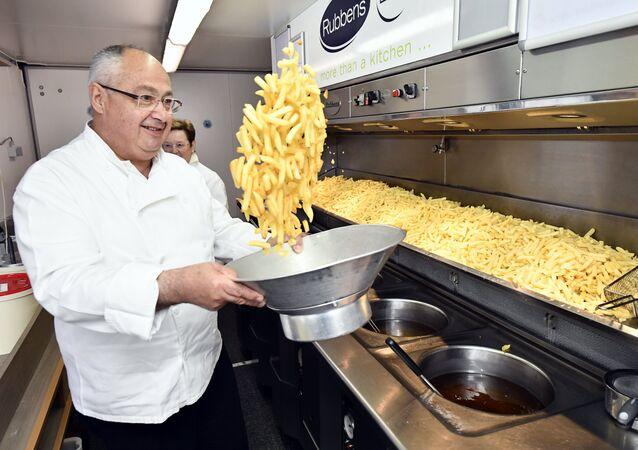 Patates kızartması - Belçika
