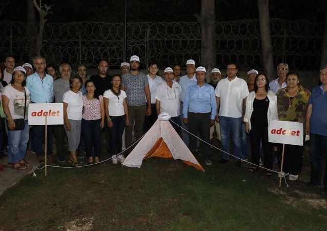 'Adalet çadırı'-Antalya