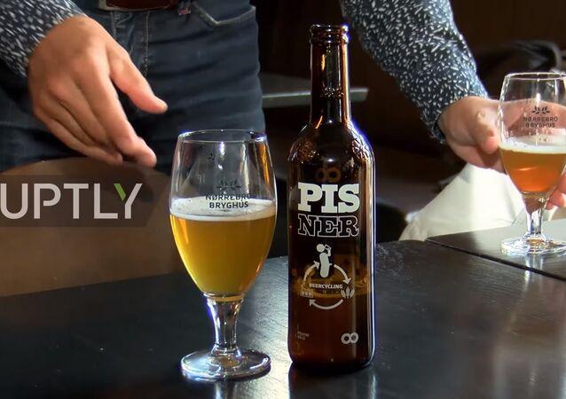 Danimarka'da idrardan bira yapıldı