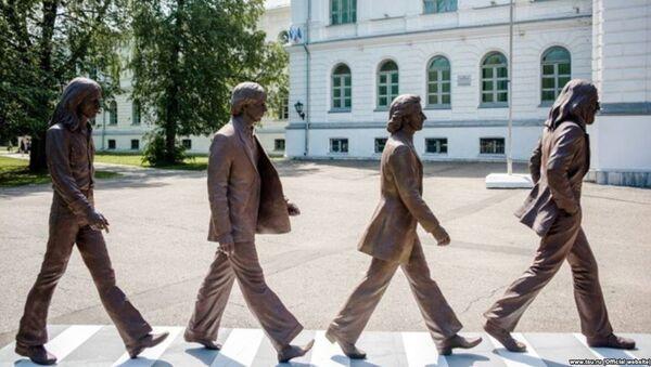 Rusya'daki Tomsk Üniversitesi'ne 'Beatles' geldi - Sputnik Türkiye