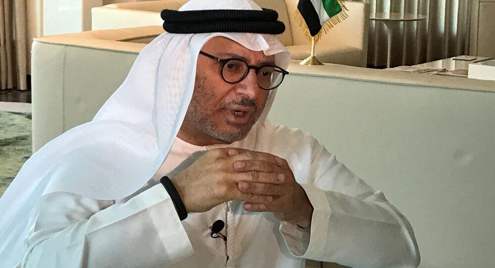 BAE Dış İşlerinden Sorumlu Devlet Bakanı Enver Gargaş
