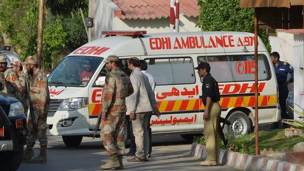 Pakistan'da patlama - saldırı / ambulans - Sputnik Türkiye