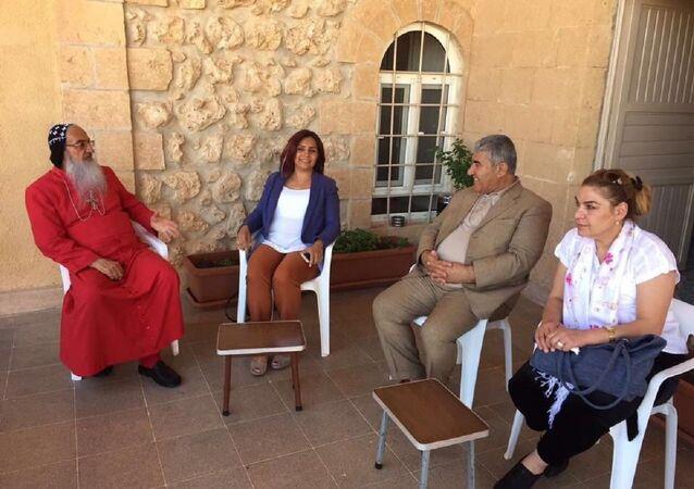CHP heyeti Mardin'de Süryani cemaati ile görüştü