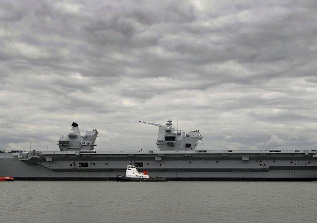 Kraliçe Elizabeth uçak gemisi