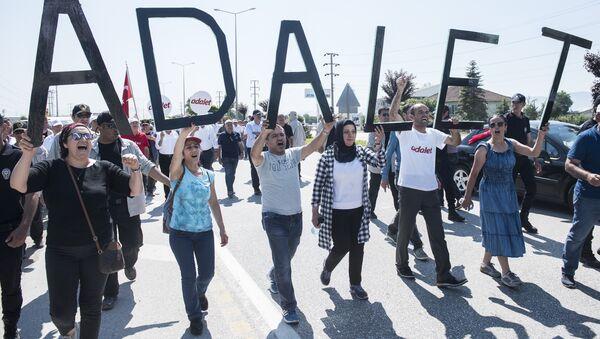 Adalet Yürüyüşü 14. gün - Sputnik Türkiye