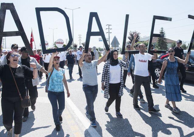 Adalet Yürüyüşü 14. gün