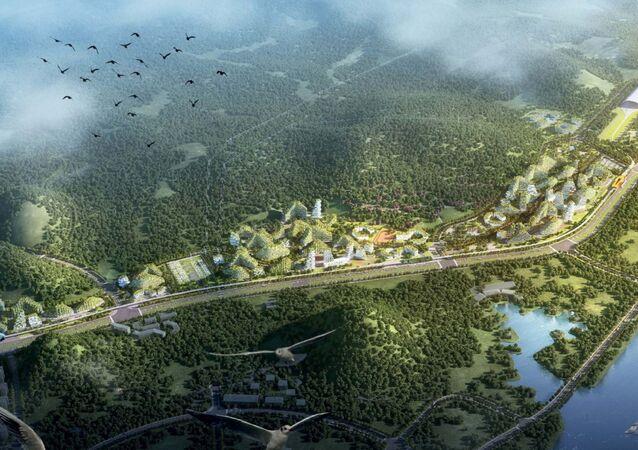 Çin hava kirliliği ile savaşmak için bir 'Orman Kent' inşa etmeye karar verdi