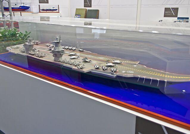 23000E 'Storm' uçak taşıyıcı gemisi maketi
