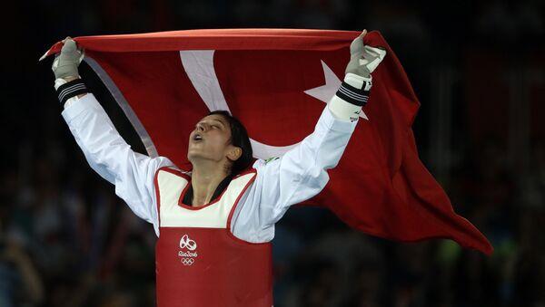 Türk tekvandocu Nur Tatar - Sputnik Türkiye