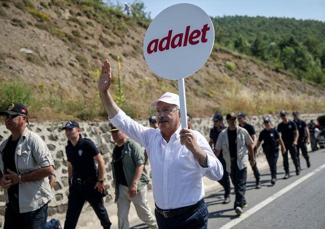 CHP Genel Başkanı Kemal Kılıçdaroğlu - Adalet Yürüyüşü 15. gün