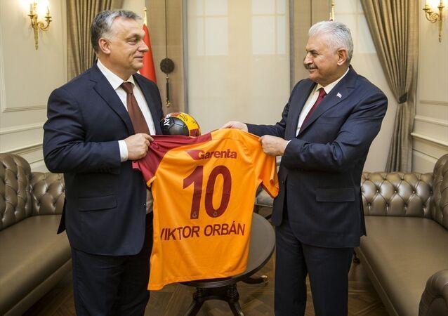 Başbakan Binali Yıldırım - Macaristan Başbakanı Viktor Orban