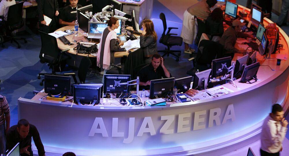 Al Jazeera stüdyosu