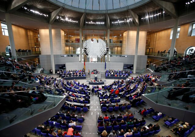 Almanya parlamentosu