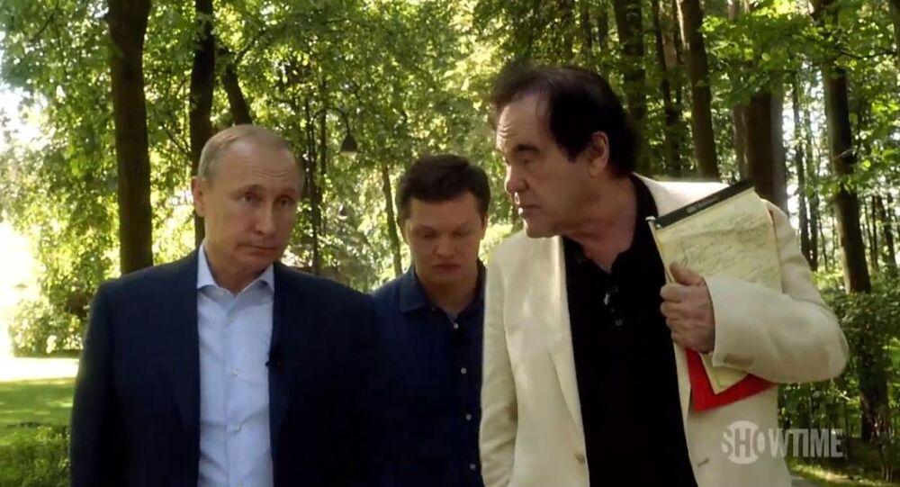 Vladimir Putin - Oliver Stone