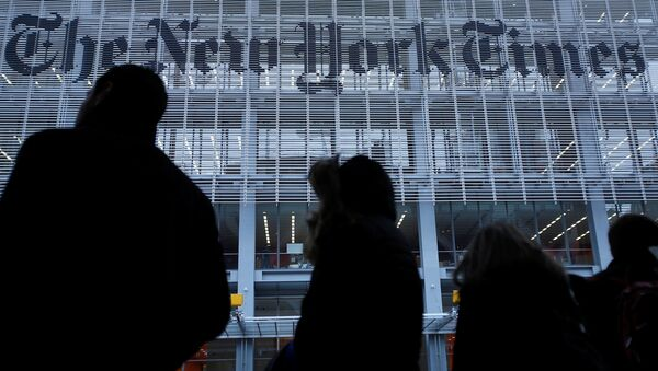 The New York Times - Sputnik Türkiye