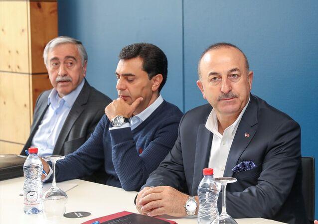 Dışişleri Bakanı Mevlüt Çavuşoğlu, Kıbrıs Konferansı'nda